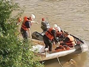 Rescue crews resumed their search on Tuesday, April 13, 2010, for a missing 5-year-old boy in the Dan River.