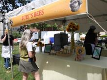 Burt's Bees is a sponsor of the Planet Earth celebration.