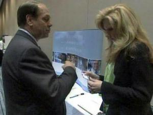 Hundreds of job seekers attended the Capital Area JobLink Career Expo on Tuesday at the Raleigh Convention Center.