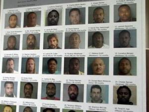 Approximately 50 people were also sentenced to federal prison in a major drug trafficking sting, U.S. authorities said Tuesday.