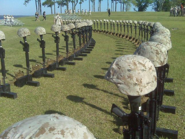 Lejeune Memorial Honors Marines Slain In Afghanistan WRAL