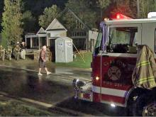 Arson destroys Clayton homes
