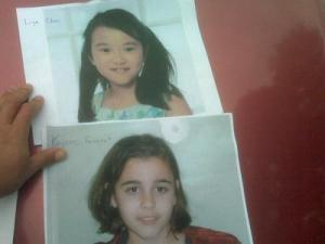 Kaycee Formont and Liya Chen were reported missing from the Heartwood Montessori School, at 112 Byrum St., around 1:30 p.m. Monday.