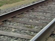 Train track, rail line generic