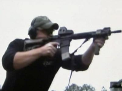 A screenshot of a YouTube video for Viking Training, a firearms instruction company.