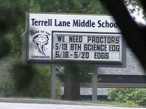 Terrell Lane Middle School