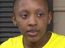 Woman recalls break-in at Raleigh home