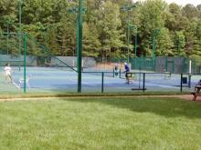 Lochmere Swim and Tennis Club in Cary (Courtesy of Jim Davis)