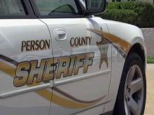 Person County Sheriff's Office cruiser