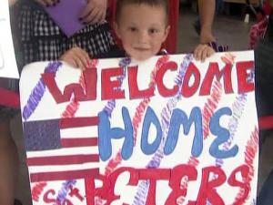 Family and friends welcomed members of the 37th Engineer Battalion at Fort Bragg home from an 11-month deployment to Iraq on May 28, 2010.