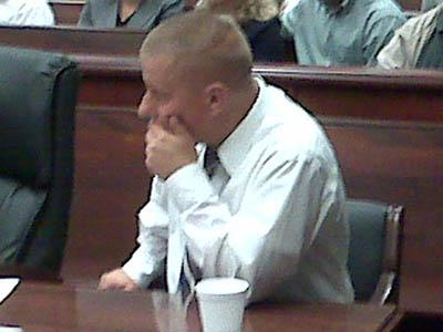 Chad Rodman pleads guilty on June 1, 2010, to killing a popular Waffle House waitress in a May 2009 wreck on U.S. 401 in Wake Forest.