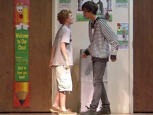 """The Bullying Stops Here,"" by playwright Angie Steele was performed Wednesday, June 2, 2010, at RN Harris Elementary School at 1520 Cooper St. in Durham."
