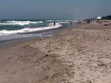 People enjoy oil-free N.C. coast