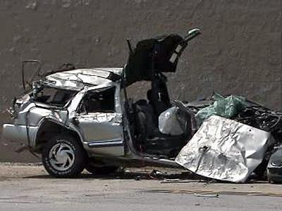 An SUV slammed into an Erwin Walmart on June 4, killing the passenger, Ashley Moore, 16.