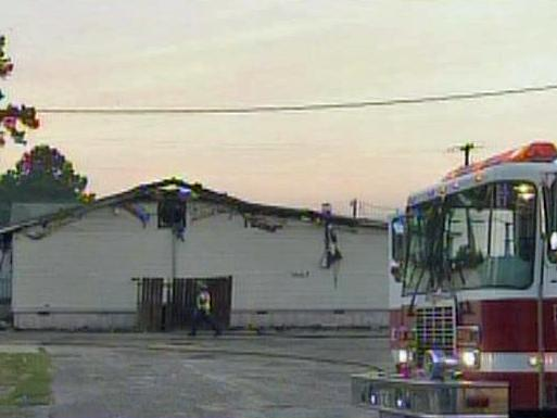 Emergency crews responded to a fire at Club Emages, a drag club at 107 Swain St., early Tuesday.