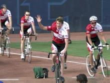 Durham race team honored at Durham Bulls' game