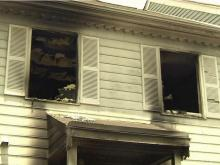 An early morning fire at 2805 Dillmark Court in Raleigh displaced a family of three on Saturday, June 19, 2010.