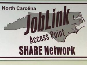 The North Carolina Employment Security Commission has opened additional locations, called SHARE access sites, to help job seekers.