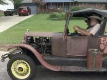 Pair travel the country in Model T
