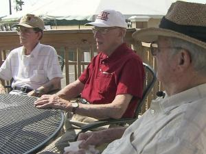 Conrad Miller, Carl Blake and Jack Downs are friends with a shared bond of service.
