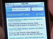 iPhone app hopes to help high school boosters