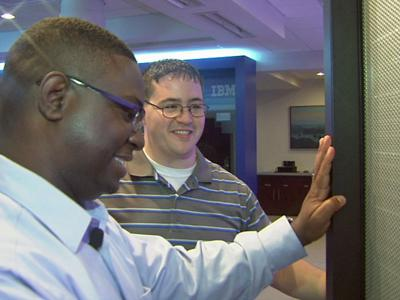 Ryan McCauley and Cedric Cook  both know what it's like to have served years in the military  and what it's like when they try to transition back into the civilian working world when their service is complete.