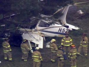 One person was killed and two others were injured in a July 12, 2010, plane crash at Horace Williams Airport in Chapel Hill.