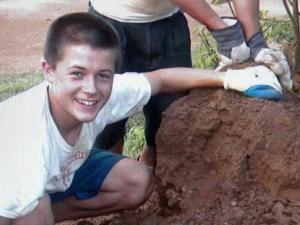 Daniel Holland spent a month volunteering in Uganda.