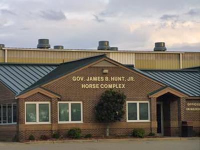 Gov. James B. Hunt Jr. Horse Complex (Photo courtesy of ncstatefair.org)