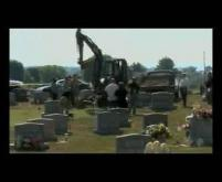 Raw video: Janet Abaroa's body exhumed
