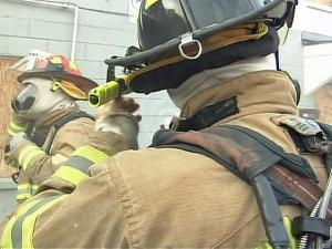 The gear that firefighters wear can trap body heat.