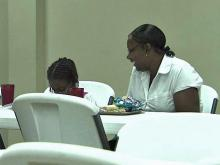 Shelters offer heat relief