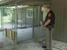 K9 dies after being let out of kennel