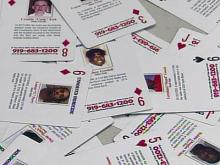 Durham betting on playing cards to solve homicides