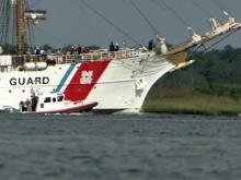 Coast Guard's 'Tall Ship' visits N.C.