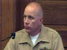Marine Chief Warrant Officer Joel Larsen