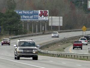 Interstate 95 goes from Maine to Florida.