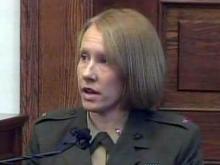 Marine Chief Warrant Officer Caroline Bier