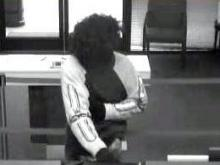 Raleigh police released this surveillance image from a bank robbery June 23.
