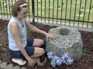 Diane Jones had stored the remains of her son, Charles Eugene Jones II, in a granite display called the Rock of Ages at the Cumberland Memorial Gardens, 4509 Raeford Road in Fayetteville. His remains were gone from the site on Aug. 20, 2010.
