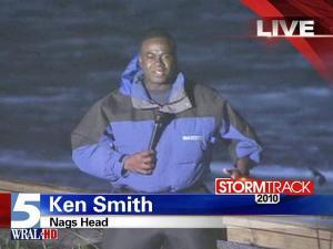 Hurricane Earl kicks up surf at Nags Head