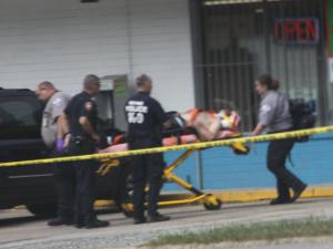 A convenience store clerk was injured during an assault Monday afternoon at the Buy Quick Food Mart, 103 W. Cornwallis Road, according to police. (Photo courtesy of Rick Ryals)