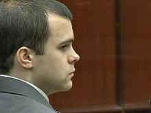 Ryan Hare listens during testimony during his trial for first-degree murder on Sept. 20, 2010. Hare is charged with first-degree murder in the Nov. 30, 2008, death of Matthew Silliman.
