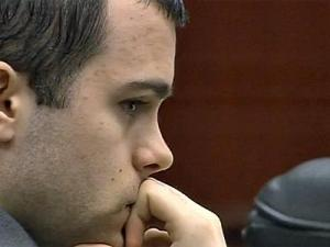 Ryan Hare sits in court on Sept. 21, 2010, the seventh day of his murder trial for the Nov. 30, 2008, death of Matthew Silliman.
