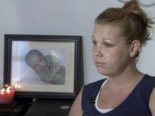 Melissa Pollard, mother of dead infant at Fort Bragg