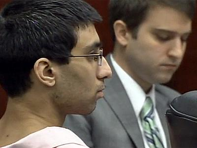 Aadil Shahid Khan sits in a Wake County courtroom on Sept. 27, 2010, during a hearing in which prosecutors have asked to withdraw a plea deal in the Nov. 30, 2008, slaying of Matthew Silliman.
