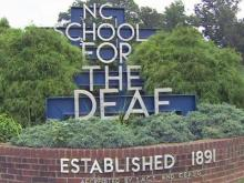 North Carolina School for the Deaf in Morganton