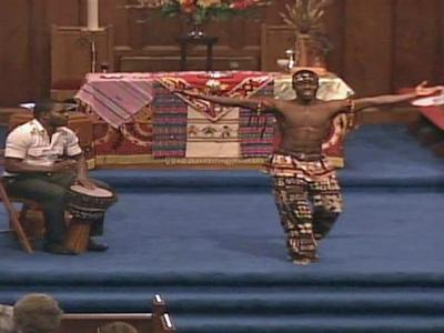 Haiti's Resurrection Dance Theatre, which is composed of orphans and former child slaves, performed Sunday, Oct. 3, 2010, at the West Raleigh Presbyterian Church in Raleigh