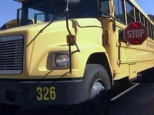 Four men were charged with trying to commandeer a Harnett County school bus on Oct. 6, 2010.