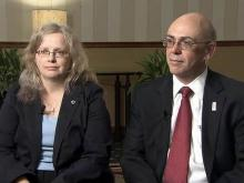 Phil and Maureen Miller, Staff Sgt. Robert Miller's parents